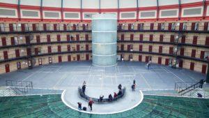 Koepelgevangenis van binnen