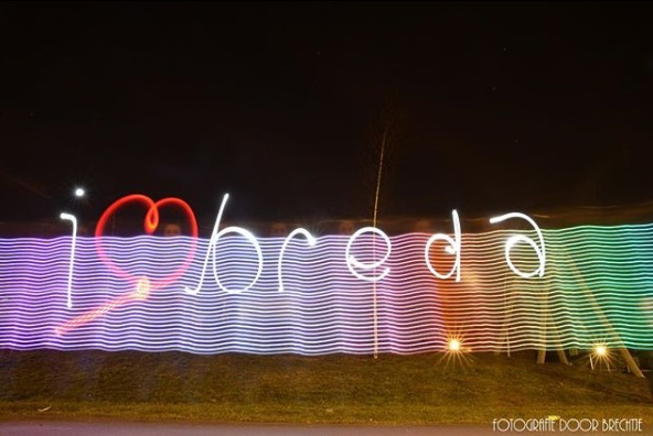 Verslag ILoveBreda Light Painting PhotoShoot 5+7 Maart