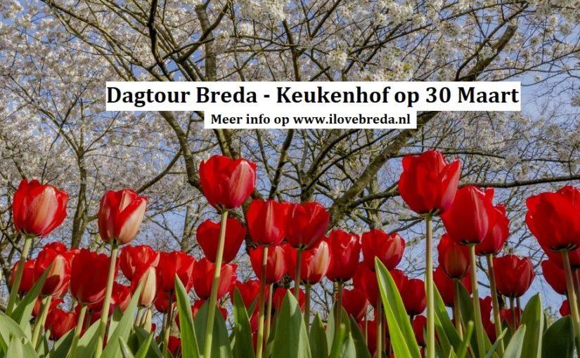 Dagtour Keukenhof met vertrek vanuit Breda.