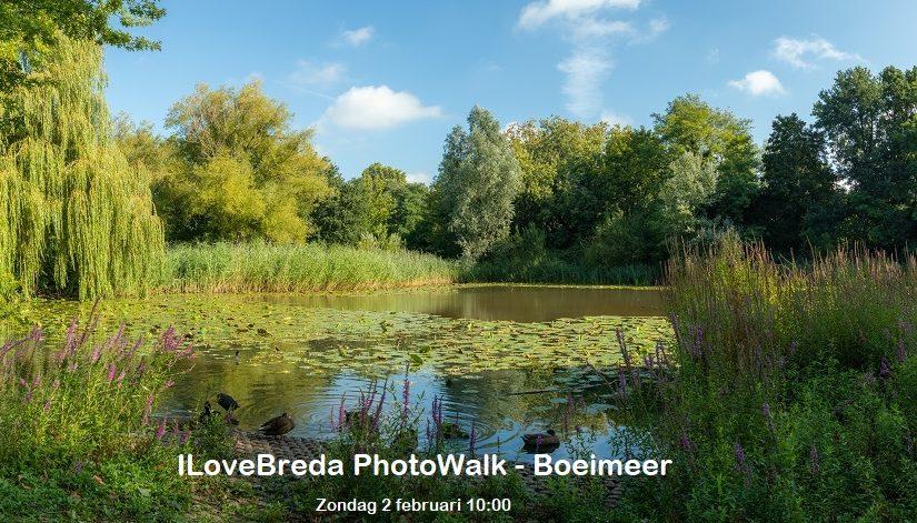 ILoveBreda bezoekt Boeimeer met PhotoWalk op 2 februari