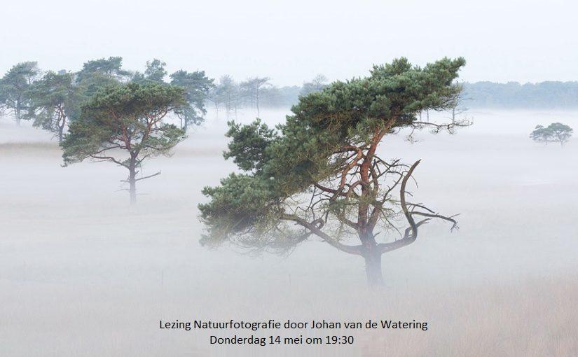 Lezing natuurfotografie door Johan van de Watering
